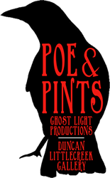 Masthead Poe and Pints logo image.